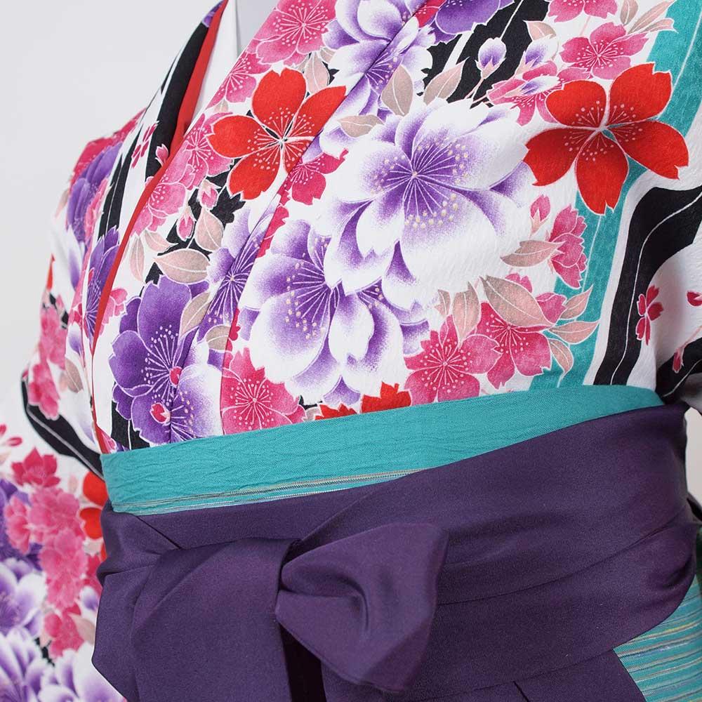 |送料無料|卒業式レンタル袴フルセット-958