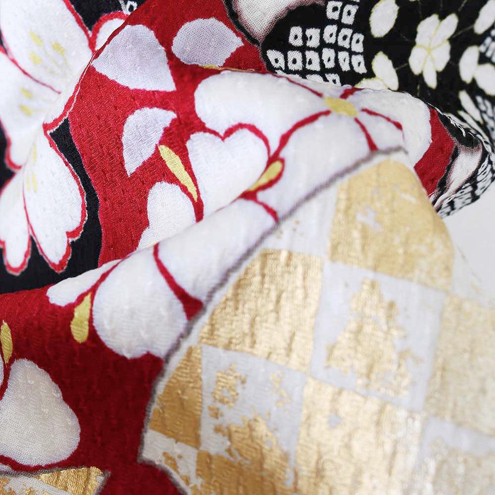 |送料無料|【レンタル】【成人式】 [安心の長期間レンタル]【対応身長156-171cm】レンタル振袖フルセット-523