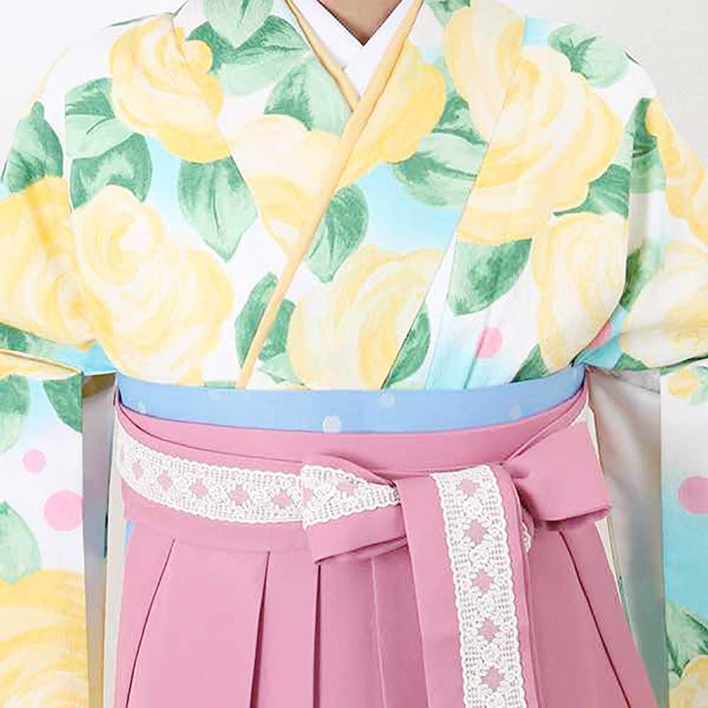 【h】|送料無料|卒業式レンタル袴フルセット-959