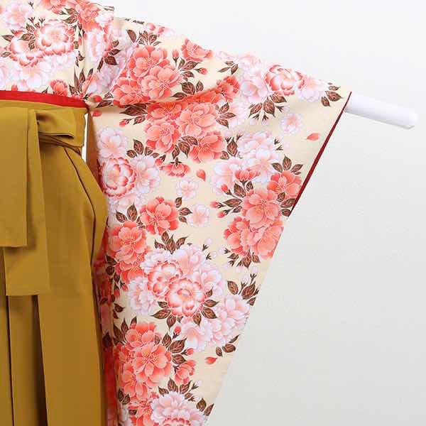 |送料無料|【レンタル】 小学生用卒業式レンタル袴フルセット-13008