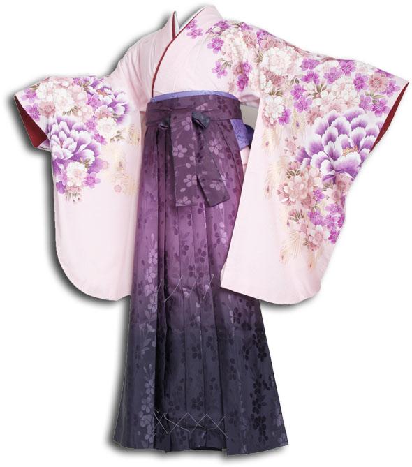 【h】|送料無料|卒業式レンタル袴フルセット-853