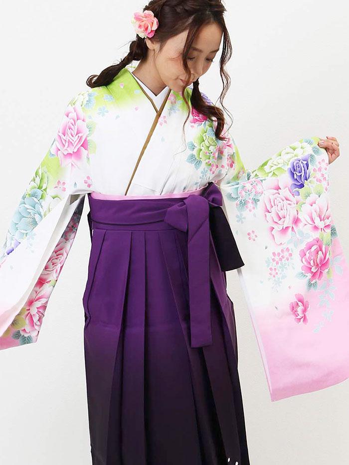 |送料無料|卒業式レンタル袴フルセット-1168
