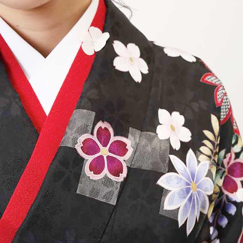 【h】|送料無料|卒業式レンタル袴フルセット-1373