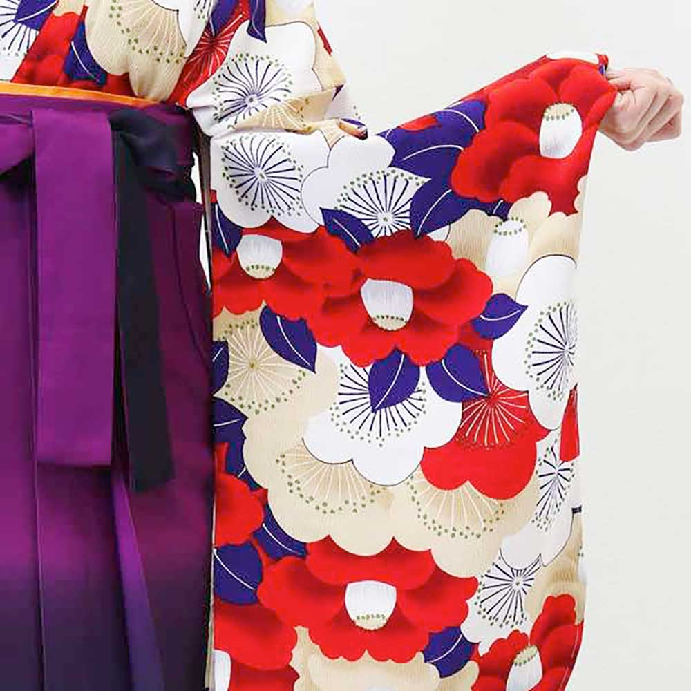 【h】|送料無料|卒業式レンタル袴フルセット-1374
