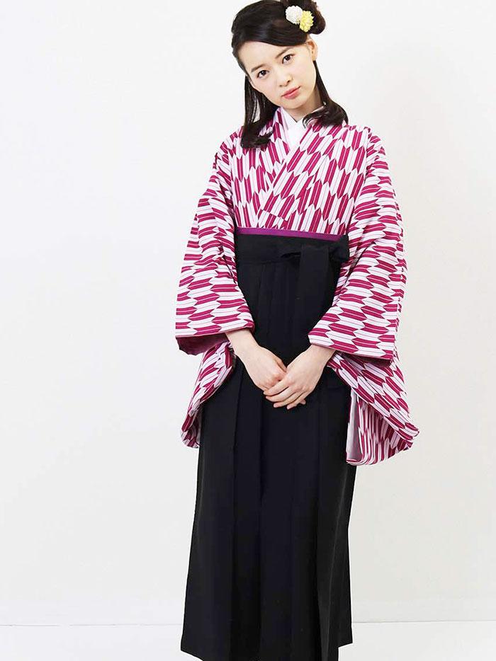  送料無料 卒業式レンタル袴フルセット-1276