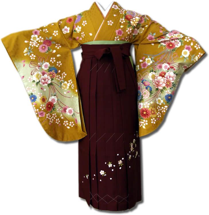 【uuu】卒業式レンタル袴フルセット-606