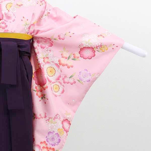 |送料無料|【レンタル】 小学生用卒業式レンタル袴フルセット-13013