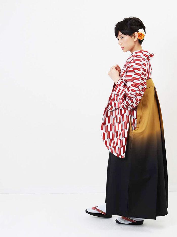 【h】|送料無料|卒業式レンタル袴フルセット-1278
