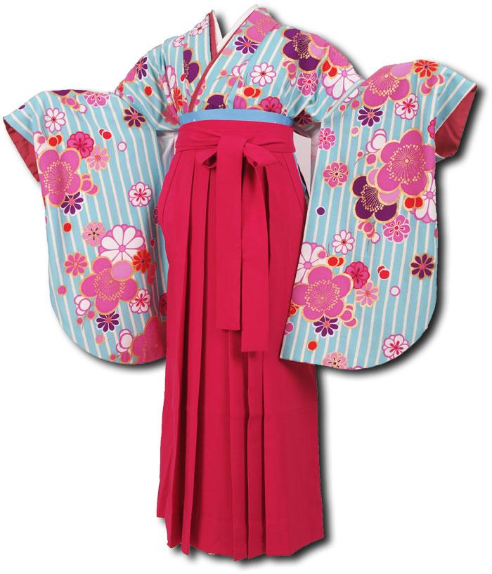 |送料無料|卒業式レンタル袴フルセット-1174