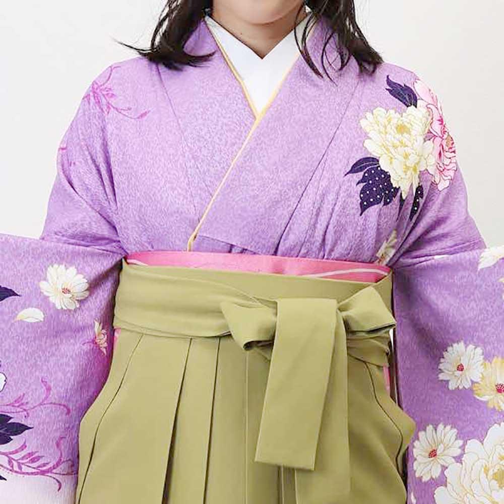 |送料無料|卒業式レンタル袴フルセット-967