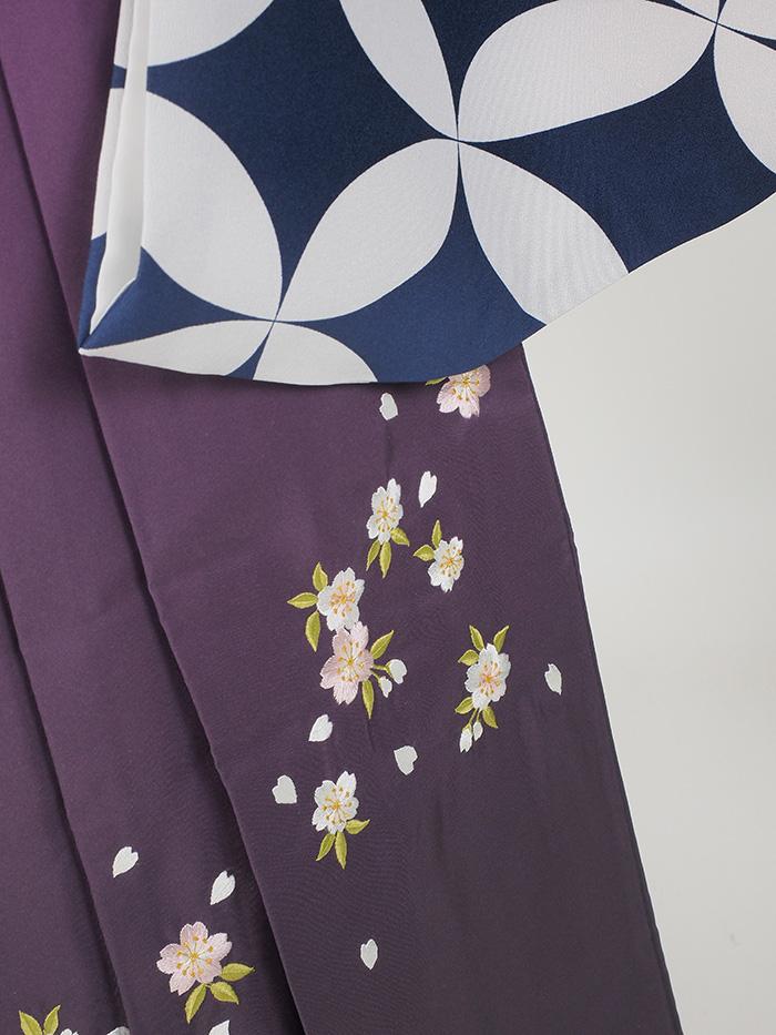|送料無料|卒業式レンタル袴フルセット-1378