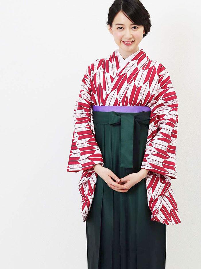 |送料無料|卒業式レンタル袴フルセット-1281