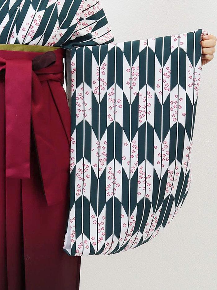 |送料無料|卒業式レンタル袴フルセット-1283