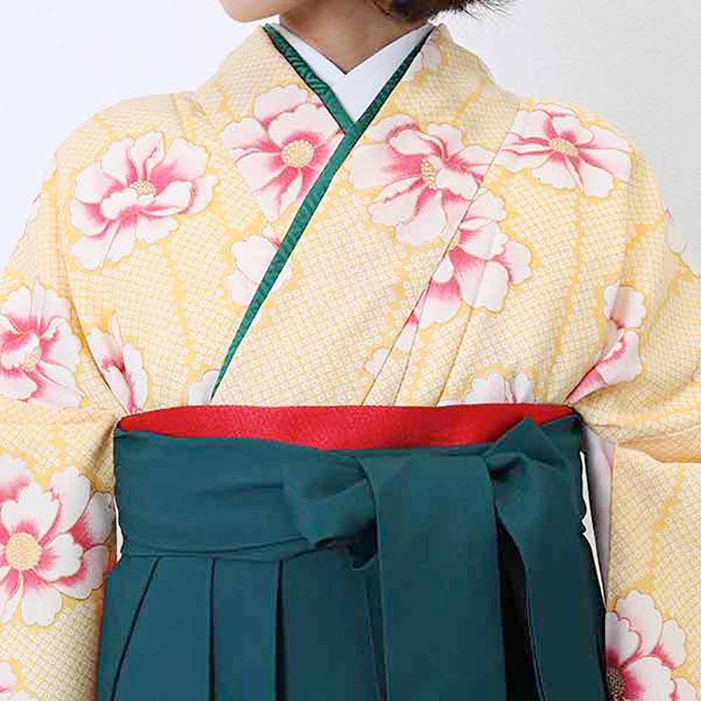|送料無料|卒業式レンタル袴フルセット-754