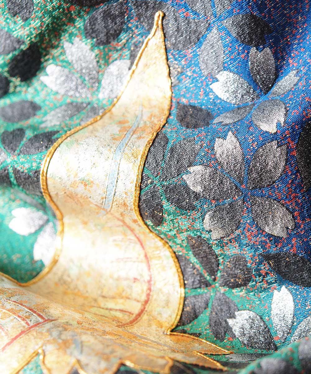 |送料無料|【レンタル】【成人式】 [安心の長期間レンタル]【対応身長160cm〜175cm】【正絹】レンタル振袖フルセット-102|花柄|古典|定