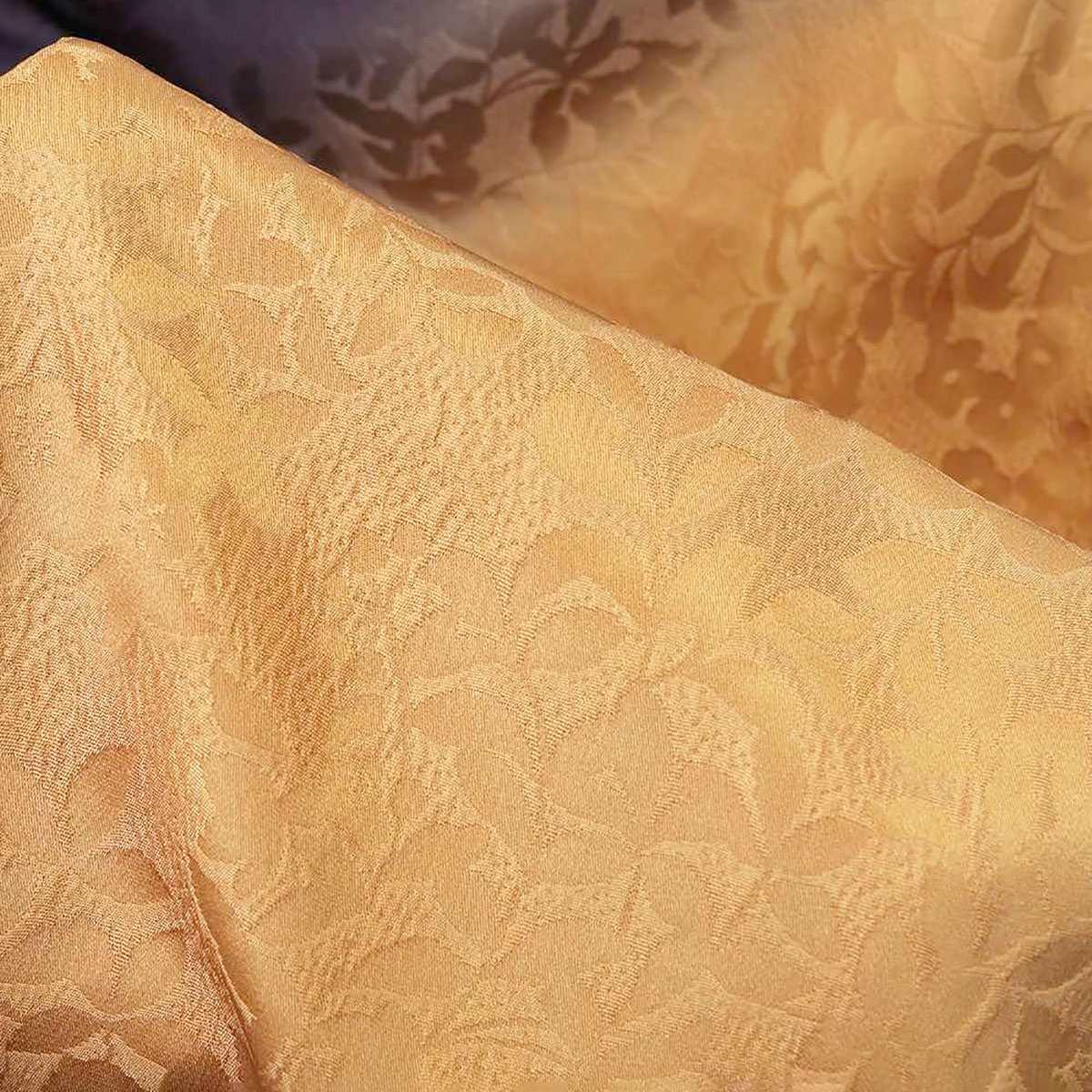 【成人式】 [安心の長期間レンタル]【対応身長155cm〜170cm】レンタル振袖フルセット-939|花柄|レトロ|クール系|黄色系|茶色系|桜|金彩|地模様
