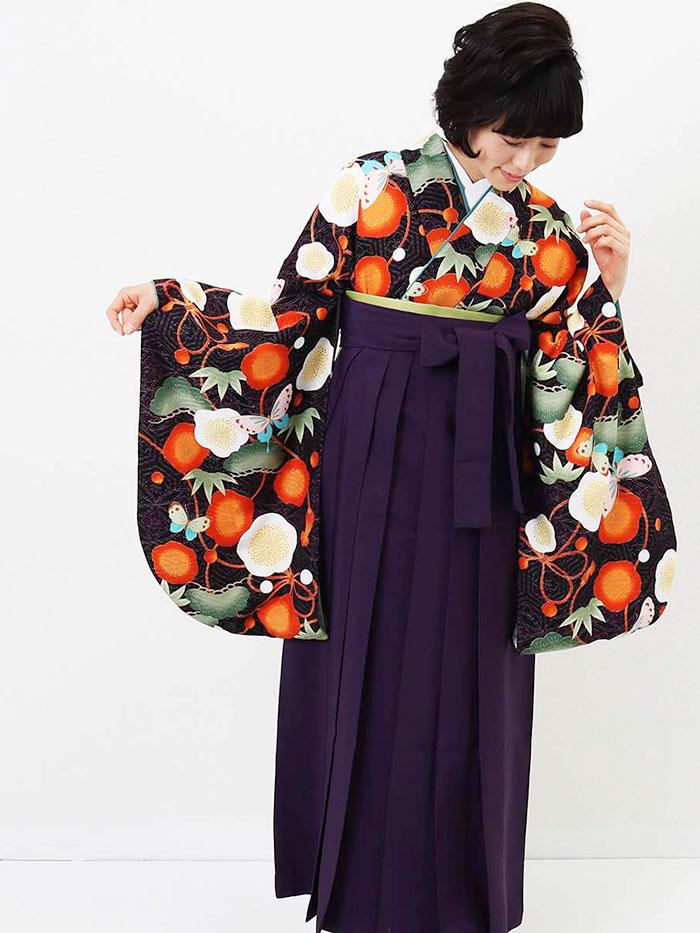 |送料無料|卒業式レンタル袴フルセット-1288