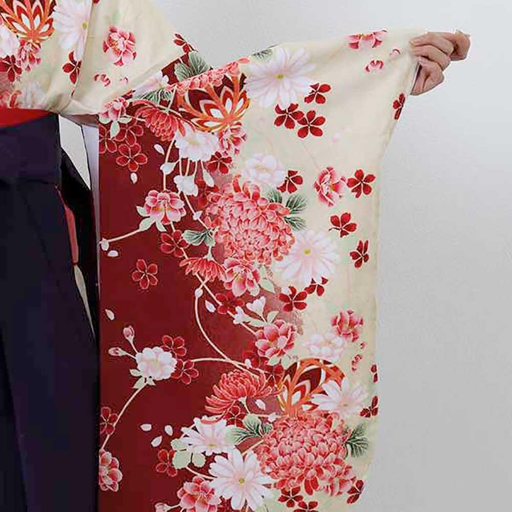 |送料無料|卒業式レンタル袴フルセット-1404