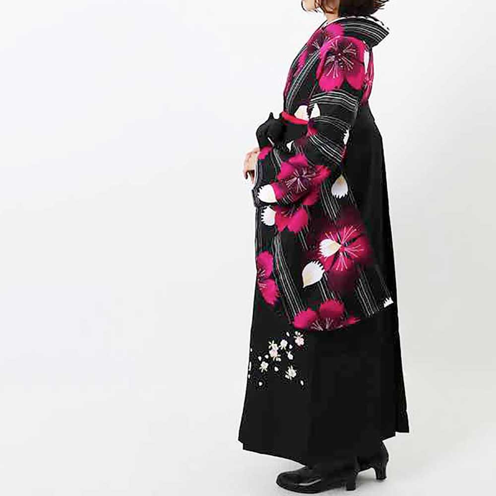 【h】|送料無料|卒業式レンタル袴フルセット-1405