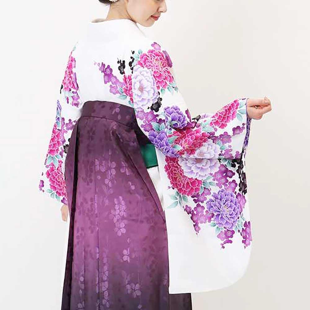 |送料無料|卒業式レンタル袴フルセット-875