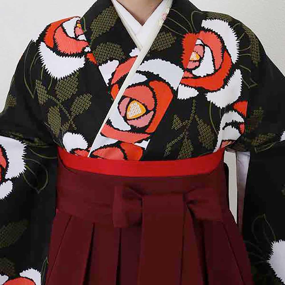 【h】|送料無料|卒業式レンタル袴フルセット-1406