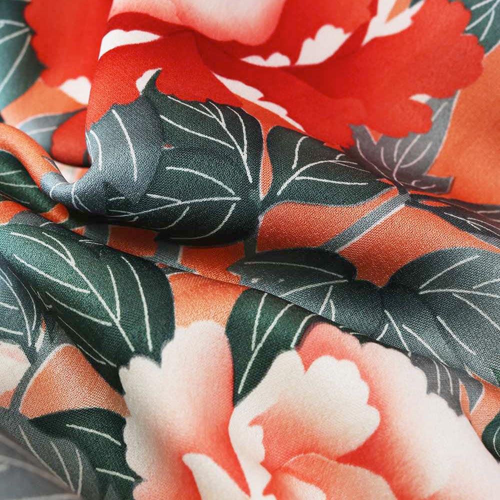 |送料無料|【レンタル】【成人式】 [安心の長期間レンタル]【対応身長155cm〜170cm】【正絹】レンタル振袖フルセット-227|花柄|レトロ|