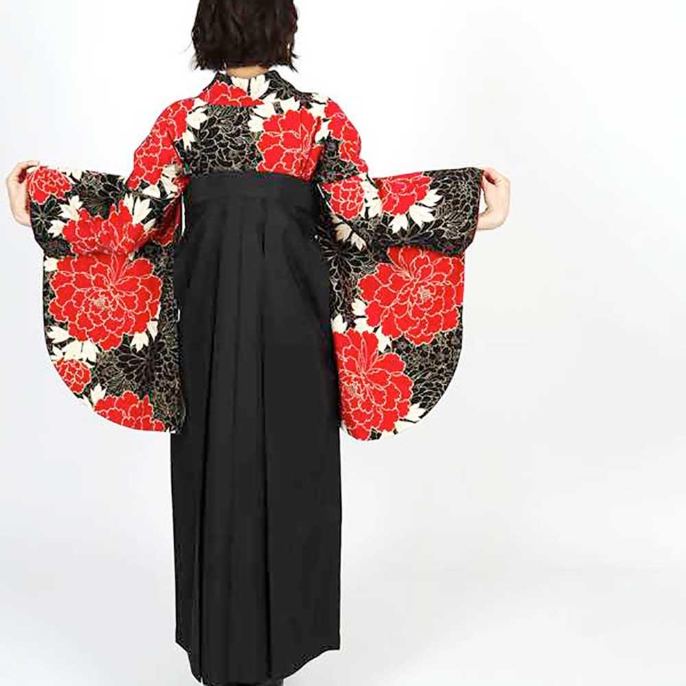 【h】 送料無料 卒業式レンタル袴フルセット-1051往復送料無料卒業式袴レンタル女袴セット卒業式袴セット