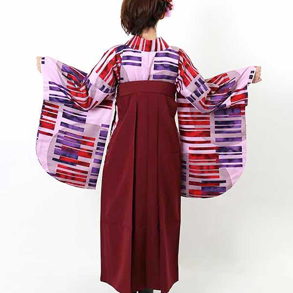 |送料無料|卒業式レンタル袴フルセット-1409
