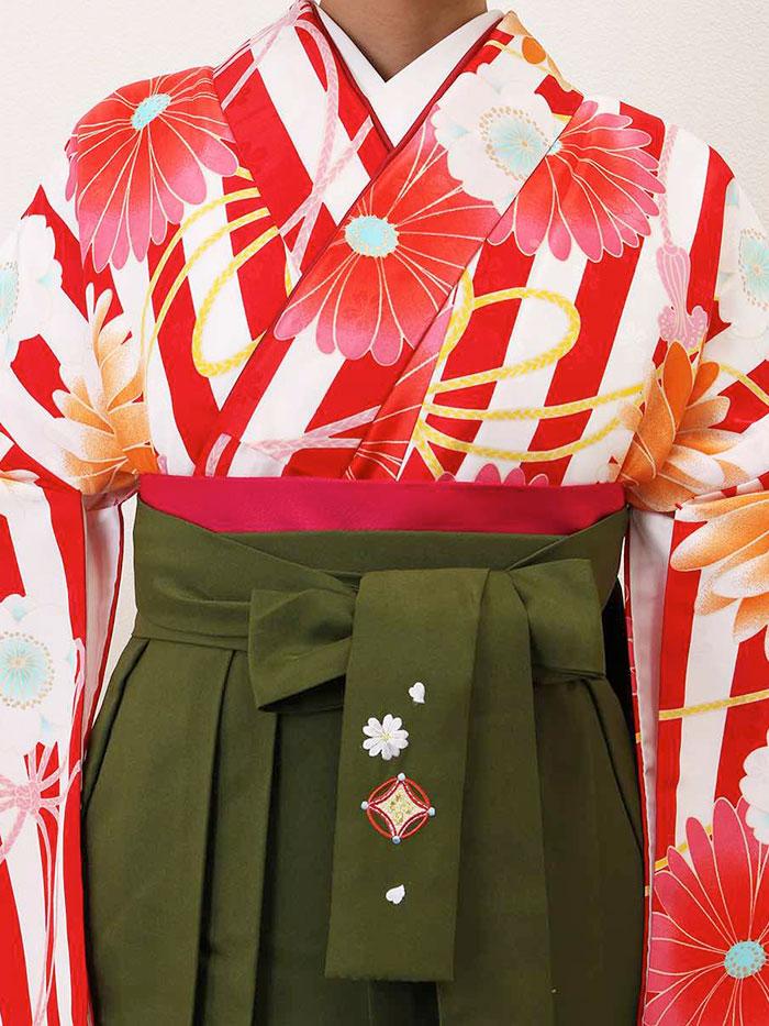 【h】|送料無料|卒業式レンタル袴フルセット-1305