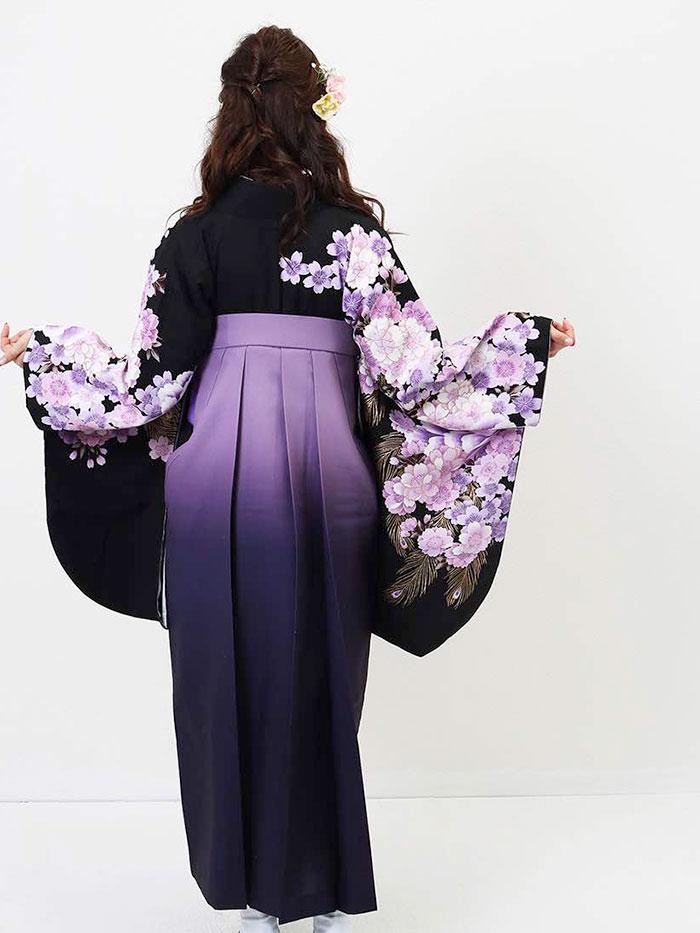  送料無料 卒業式レンタル袴フルセット-769