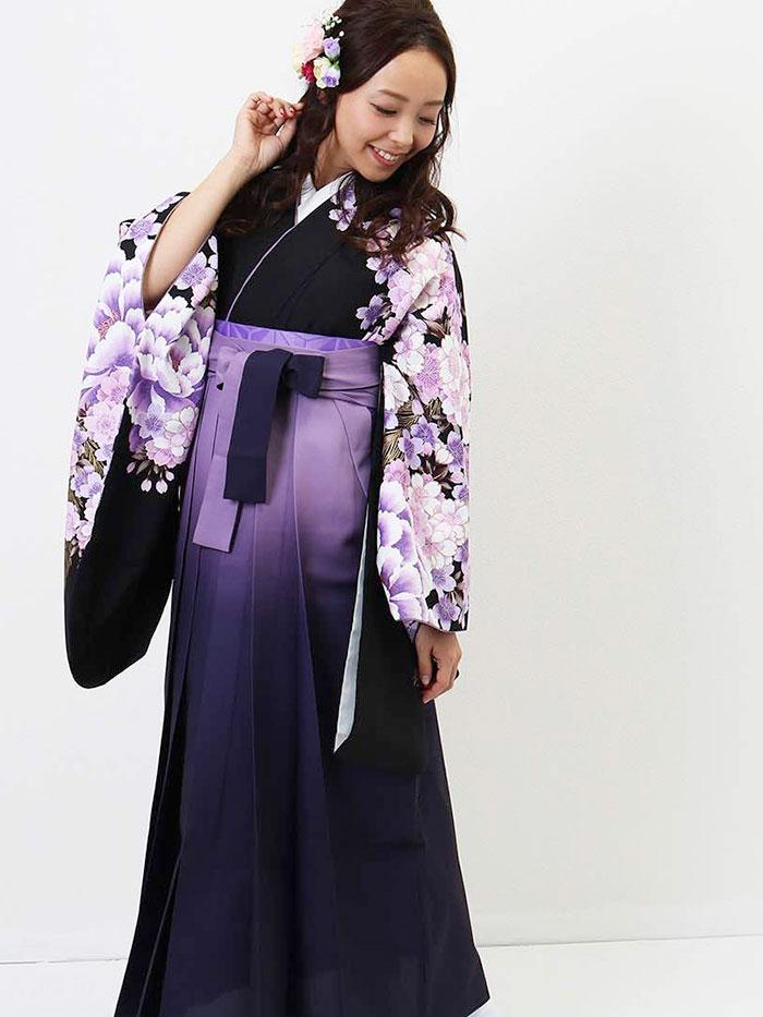 |送料無料|卒業式レンタル袴フルセット-769