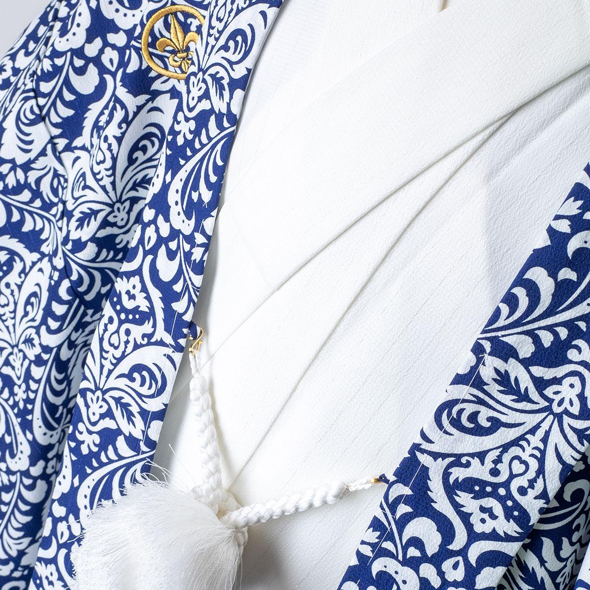 |送料無料|【レンタル】【成人式】【対応身長170cm-180cm】男性用レンタル紋付き袴フルセット