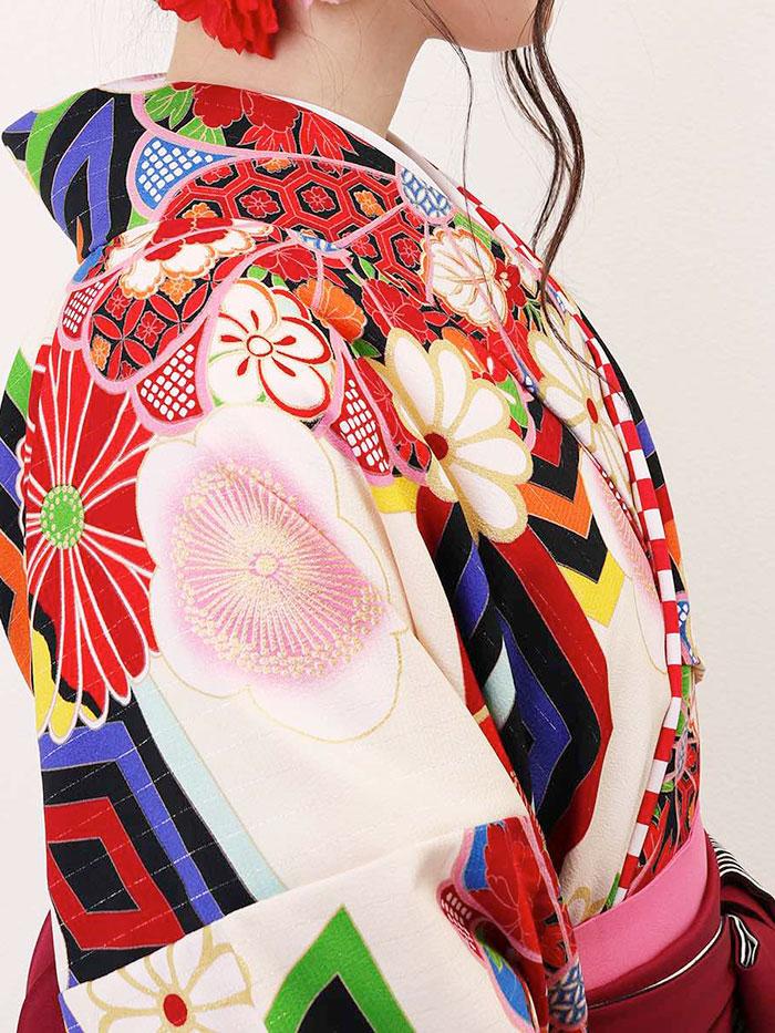 |送料無料|卒業式レンタル袴フルセット-1308