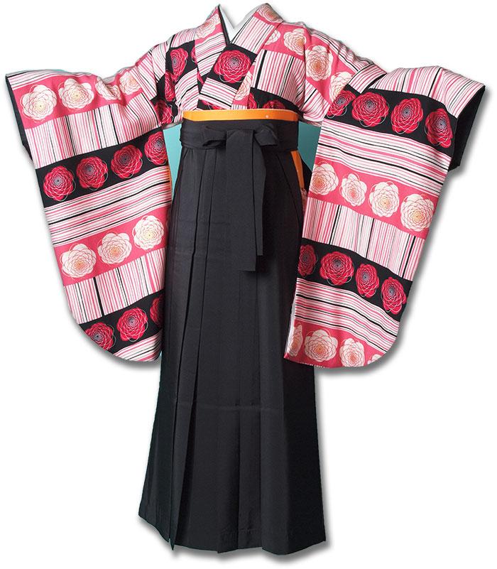 |送料無料|卒業式レンタル袴フルセット-1196