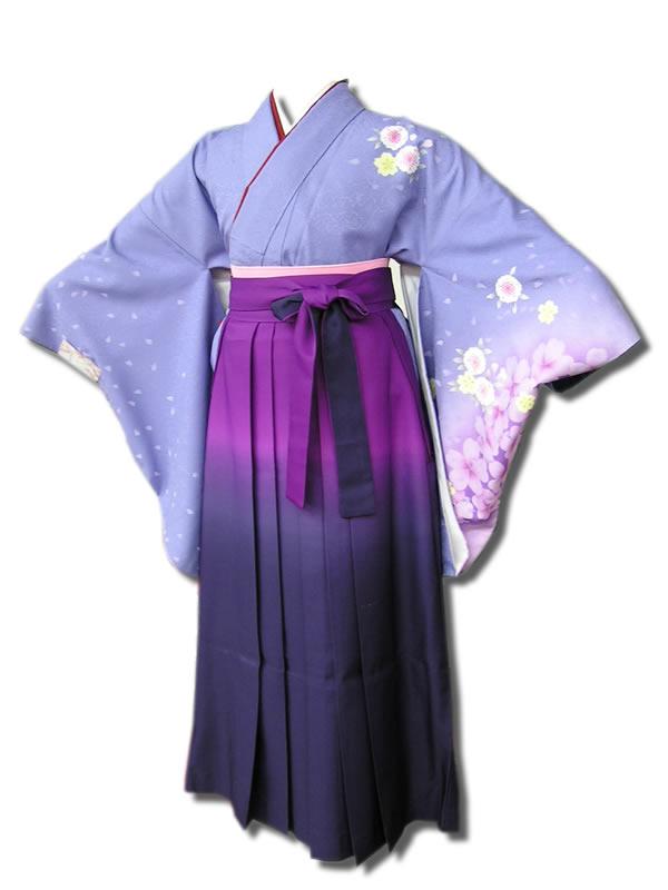 |送料無料|卒業式レンタル袴フルセット-515