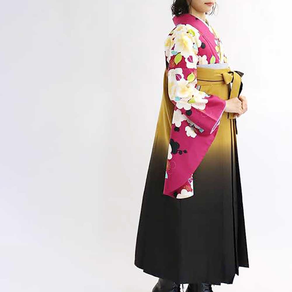 |送料無料|卒業式レンタル袴フルセット-1511往復送料無料卒業式袴レンタル女袴セット卒業式袴セット