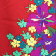 【成人式】 [安心の長期間レンタル]【対応身長150cm〜165cm】レンタル振袖フルセット-891 花柄 クール系 赤系 モダン