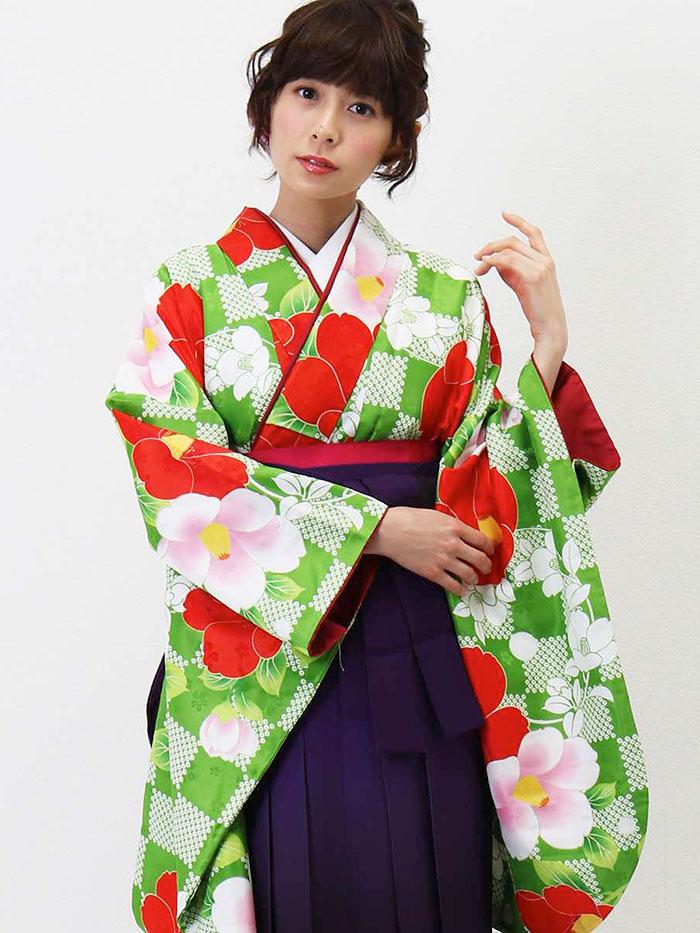 |送料無料|卒業式レンタル袴フルセット-1311