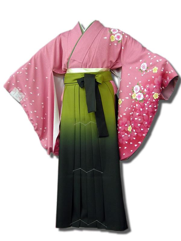 |送料無料|卒業式レンタル袴フルセット-518