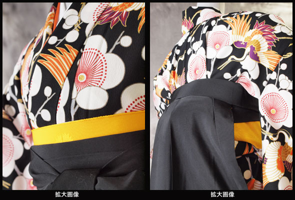 |送料無料|卒業式レンタル袴フルセット-995