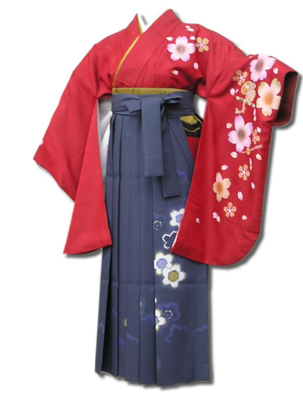 |送料無料|卒業式レンタル袴フルセット-519