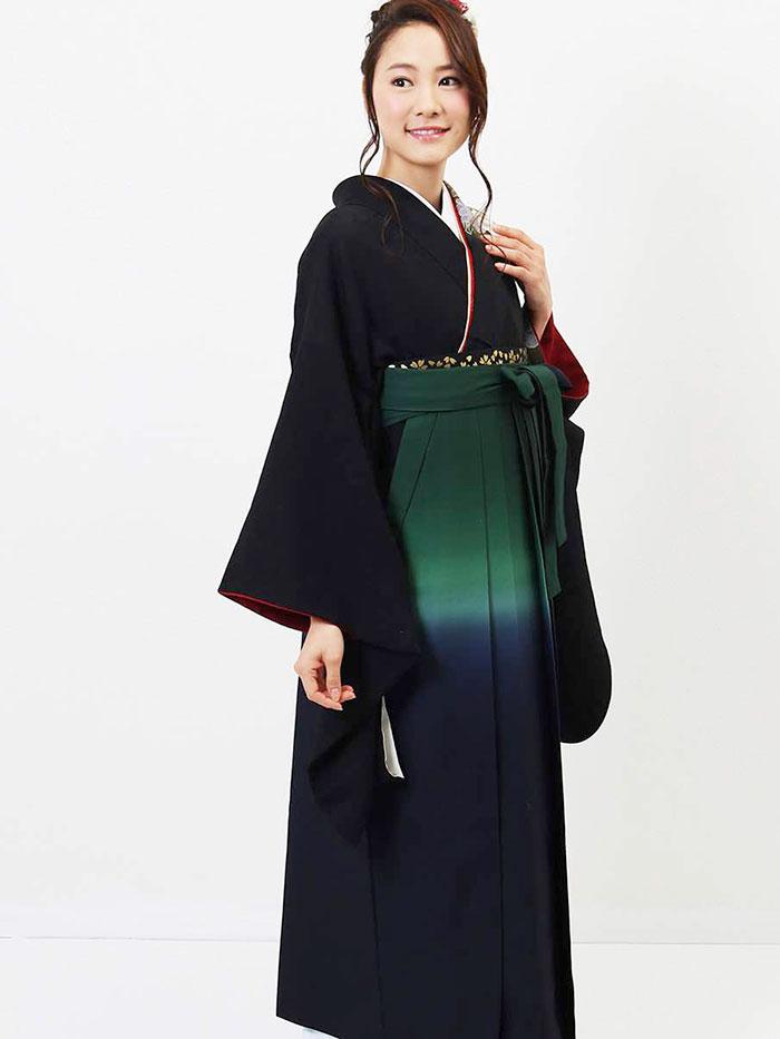 【h】|送料無料|卒業式レンタル袴フルセット-638