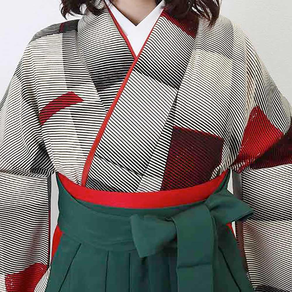 【h】|送料無料|卒業式レンタル袴フルセット-1928