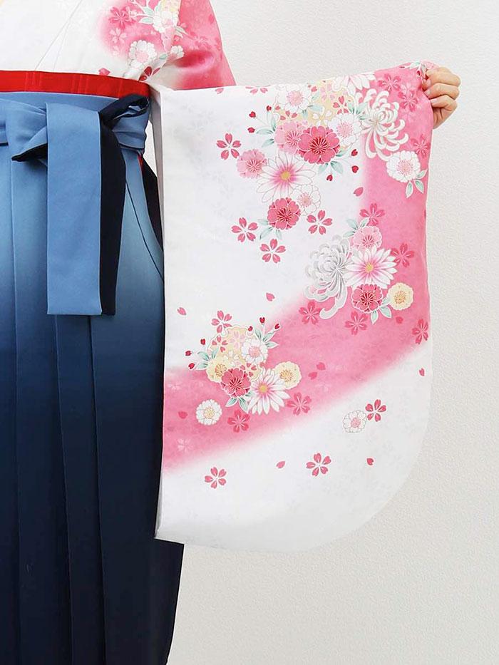 【h】|送料無料|卒業式レンタル袴フルセット-779