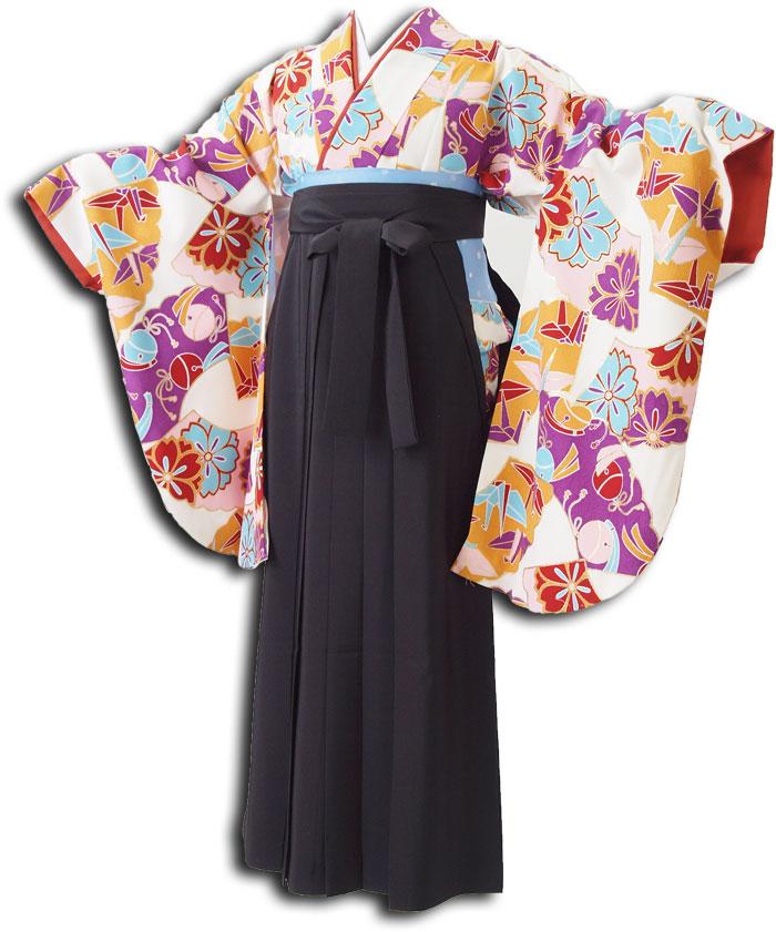 |送料無料|卒業式レンタル袴フルセット-1064