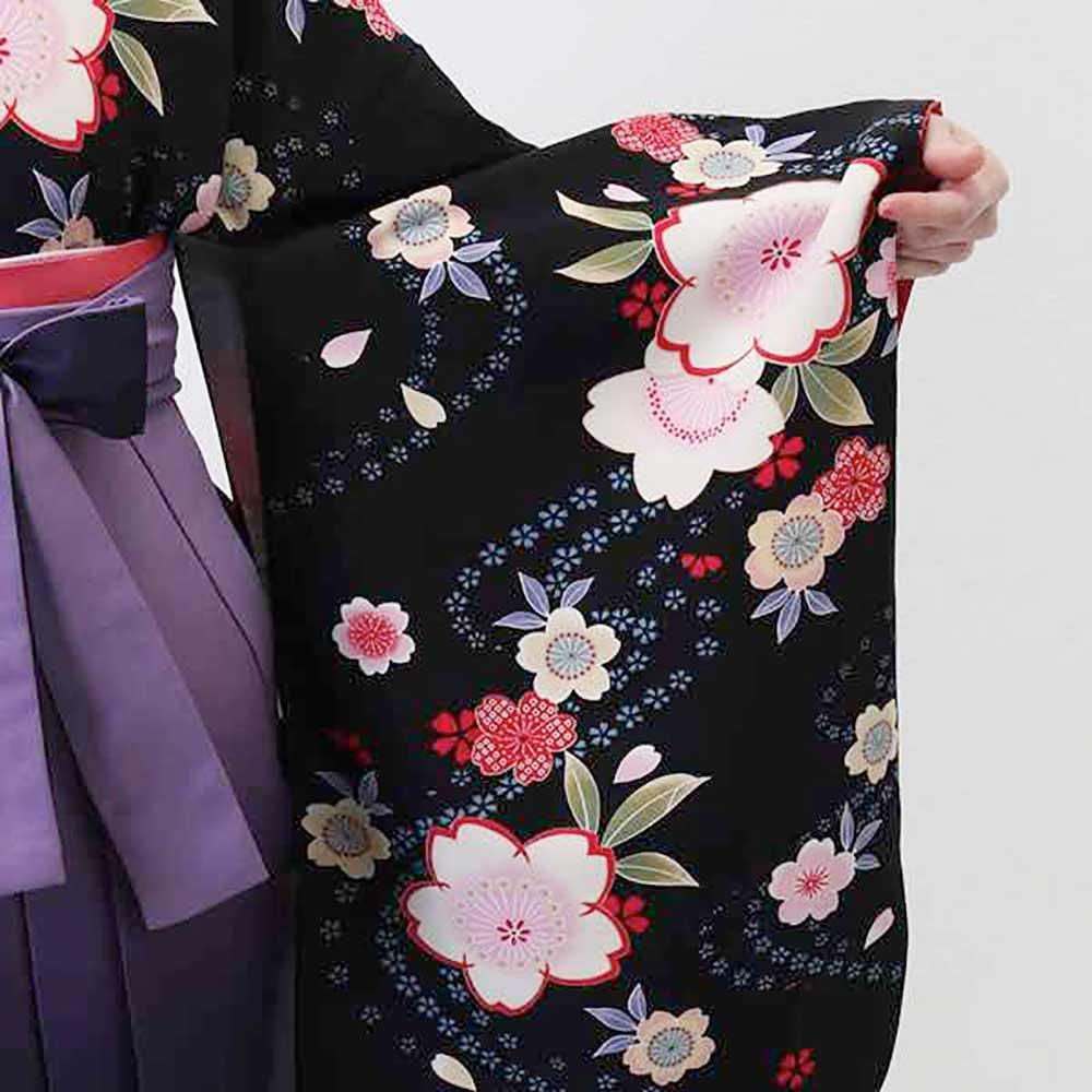 【h】|送料無料|卒業式レンタル袴フルセット-641