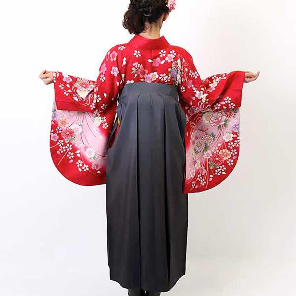 【h】|送料無料|卒業式レンタル袴フルセット-1930