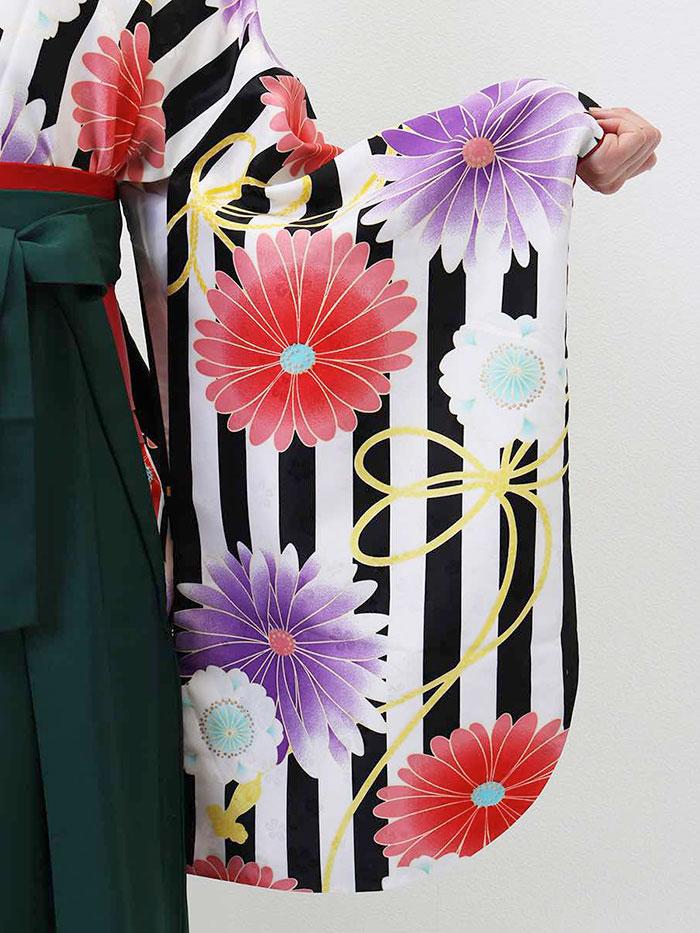 【h】 送料無料 卒業式レンタル袴フルセット-1316