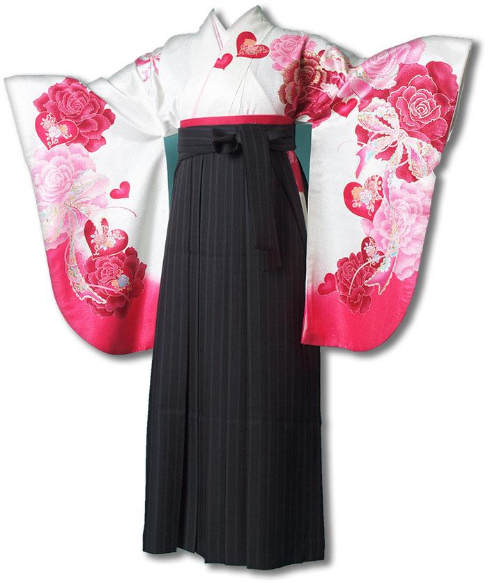 【h】|送料無料|卒業式レンタル袴フルセット-1204