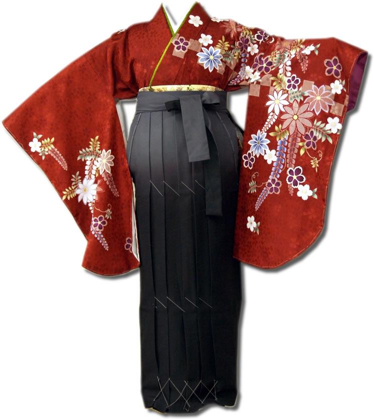 卒業式レンタル袴フルセット-646